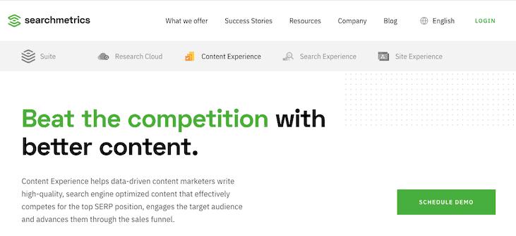 Searchmetrics Content Experience