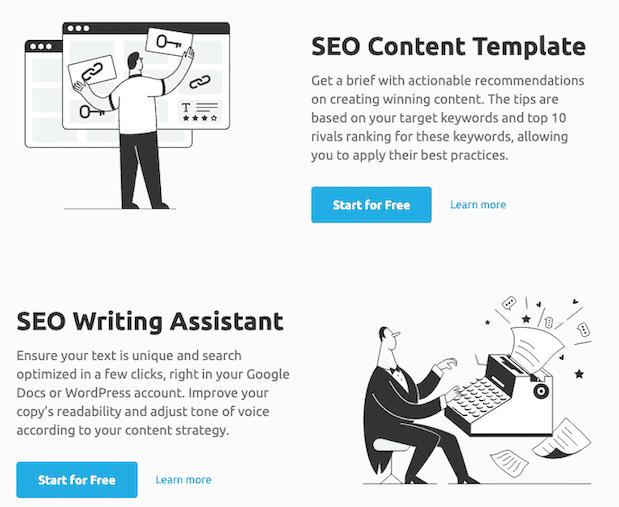 Semrush Content Optimization Tools