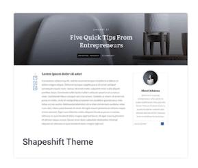 Shapeshift Theme