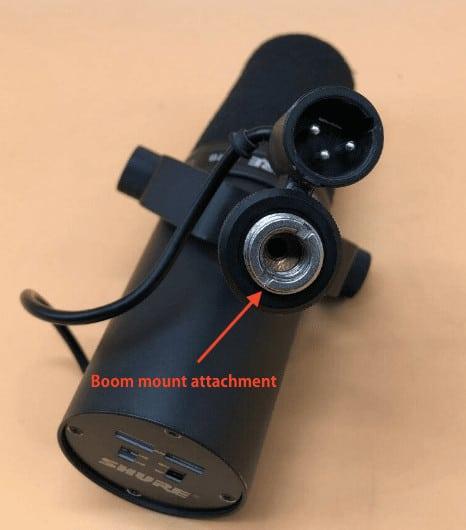 Shure Sm7b Built In Boom Mount Attachment