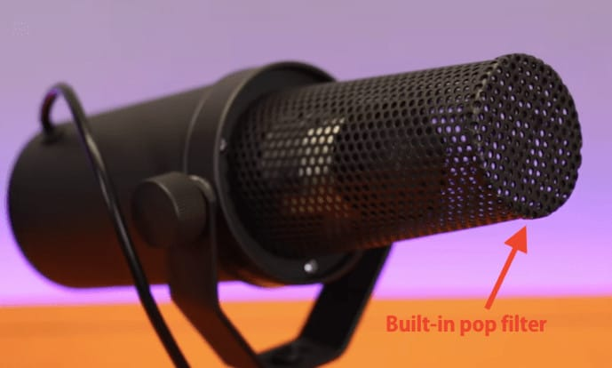 Shure Sm7b Built In Pop Filter