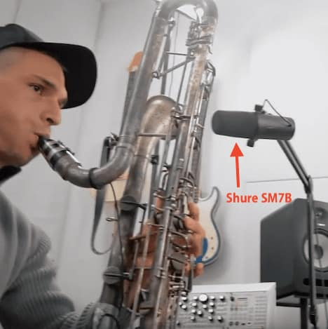 Shure Sm7b Clarinet Recording