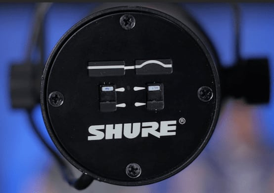 Shure Sm7b Frequency Switches