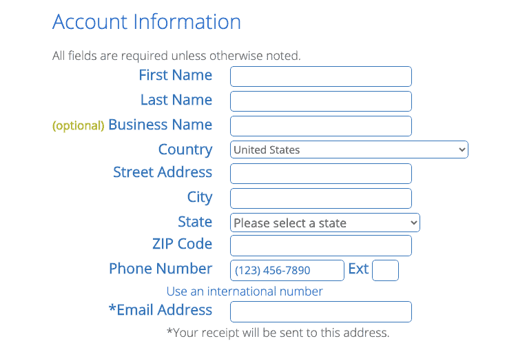 Sign Up For Bluehost Step4