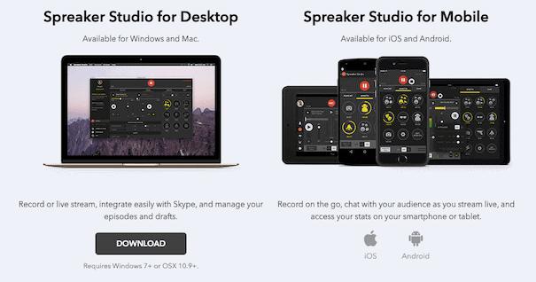 Spreaker Apps