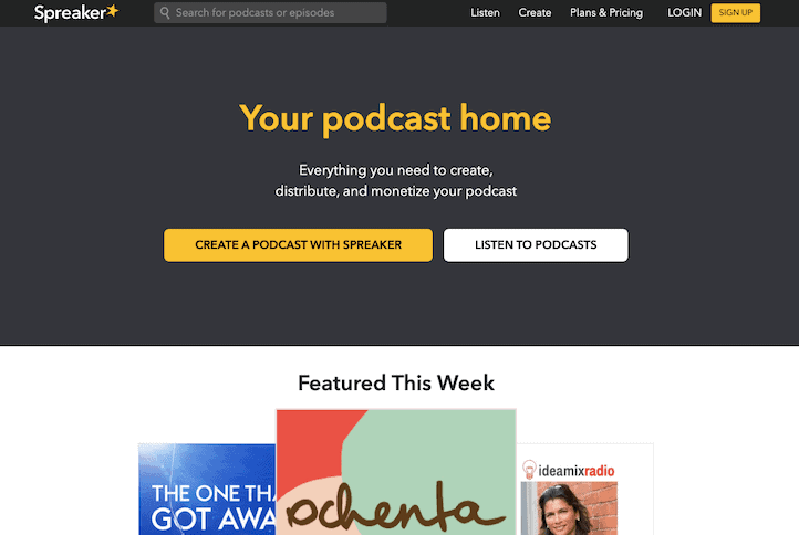 Spreaker Podcast Hosting