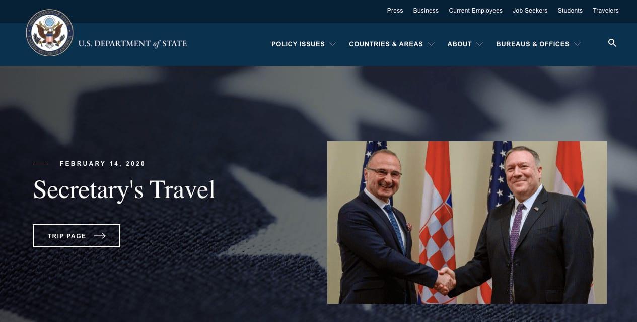 State Gov WordPress Showcase