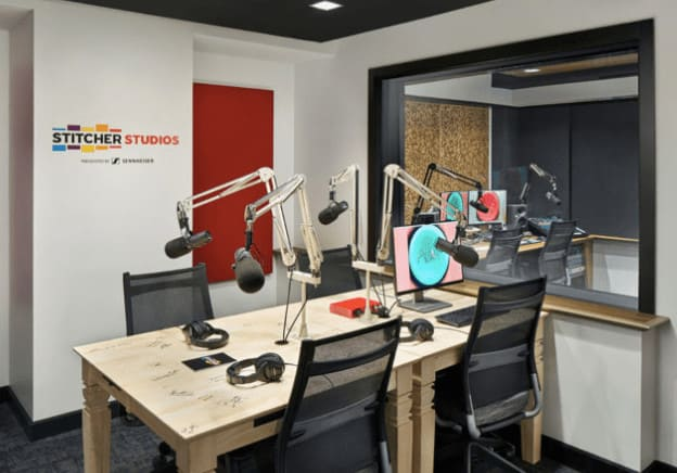 Stitcher Midroll Podcast Studios New York