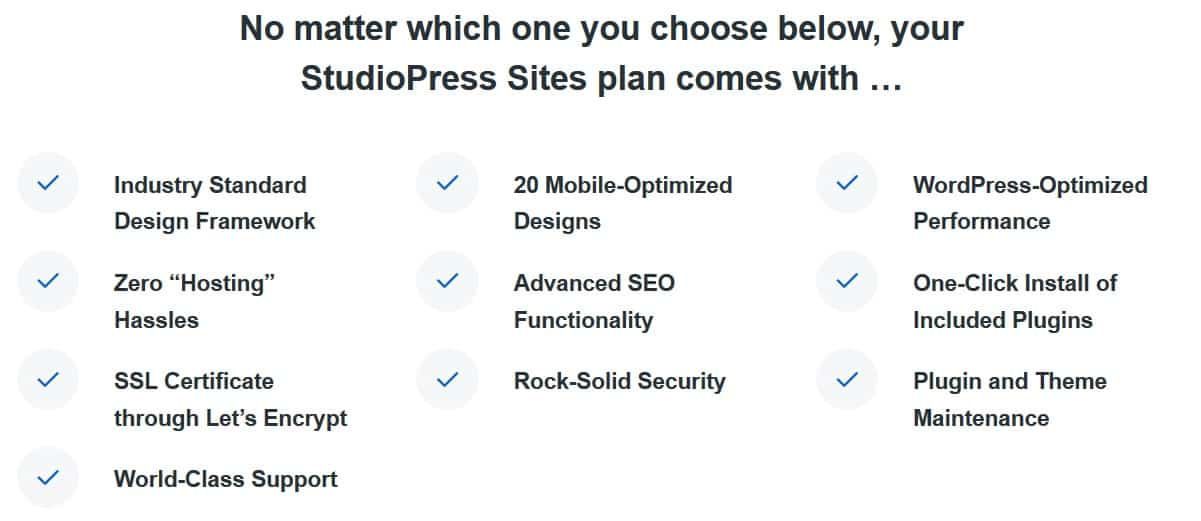 studiopress-sites-summary