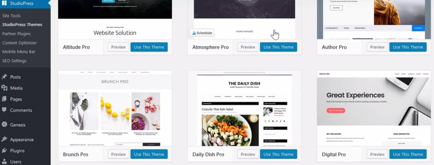 studiopress-sites-themes