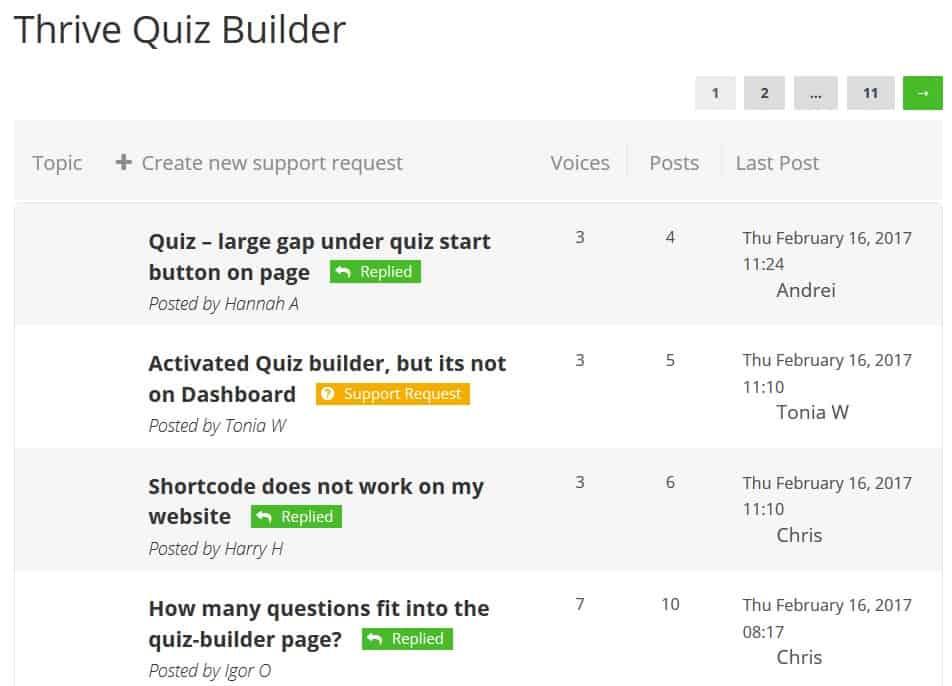 thrive-quiz-builder-support