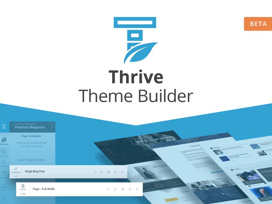 Thrive Theme Builder Beta