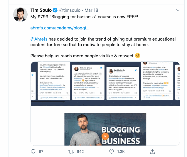 Tim Soulo Blogging For Business
