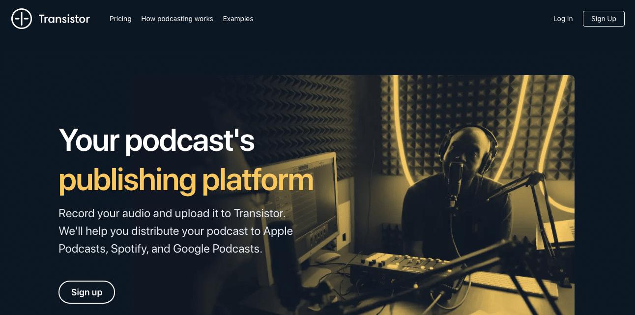 Transistor Podcast Platform
