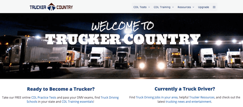 Trucker County Generate Premium Example