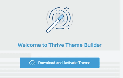Welcome To Thrive Theme Builder