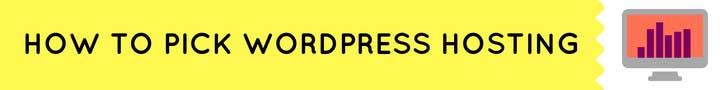 which-wordpress-host