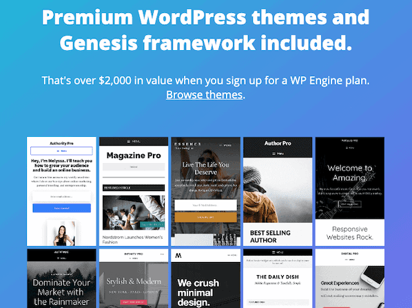 Wp Engine Studiopress Genesis Themes